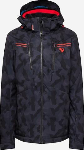 ZIENER Outdoor jacket 'TINTU' in Black