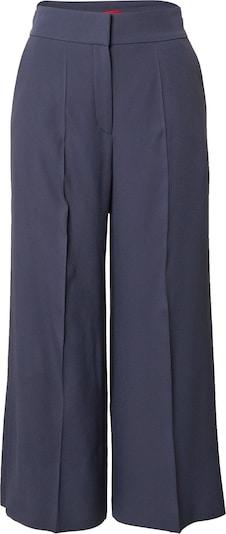 HUGO Pleated Pants 'Halasa' in Dark blue, Item view