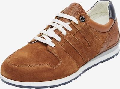 Van Lier Sneaker 'Diego ' in braun: Frontalansicht