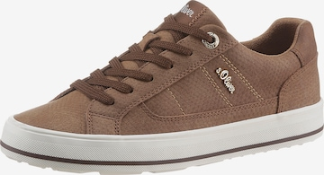 s.Oliver Sneakers in Brown