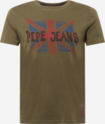 Tricou 'ROLAND' Pepe Jeans pe albastru / verde / roșu / negru, Vizualizare produs