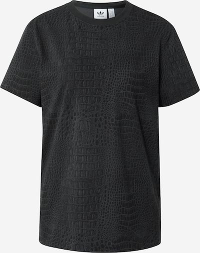 ADIDAS ORIGINALS T-Shirt in dunkelgrau / schwarz, Produktansicht