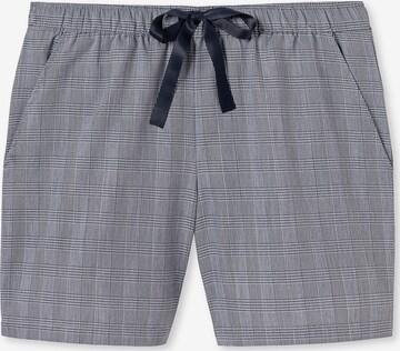 SCHIESSER Shorts in Blau