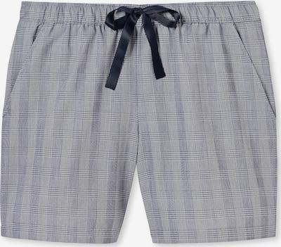 SCHIESSER Spodnji del pižame | nočno modra / siva barva, Prikaz izdelka