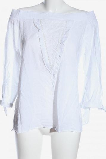 lykkelig Carmen-Bluse in L in weiß, Produktansicht