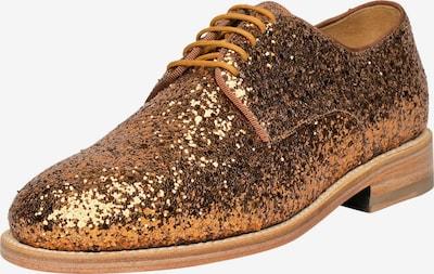 Henry Stevens Schnürschuhe Rahmengenäht 'Ella PD' in gold, Produktansicht