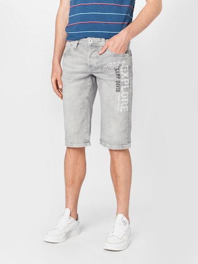 CAMP DAVID Jeans 'Ro:Bi' in grey denim, Modelansicht