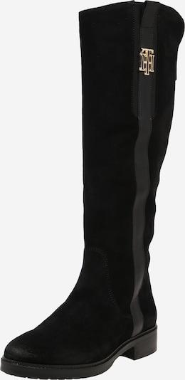 Cizme TOMMY HILFIGER pe negru, Vizualizare produs