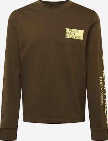 Calvin Klein Dressipluus, värv pruun