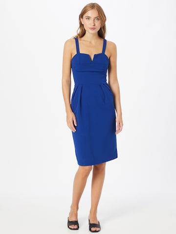 WAL G. Fodralklänning 'IMAANI' i blå