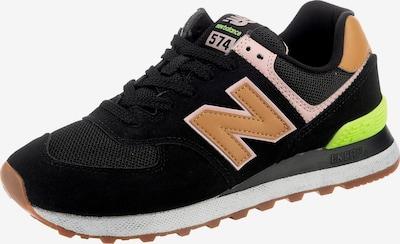 homok / neonzöld / rózsaszín / fekete new balance Rövid szárú edzőcipők, Termék nézet