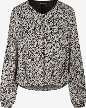APART Bluse aus leicht körnigem Georgette in Mischfarben
