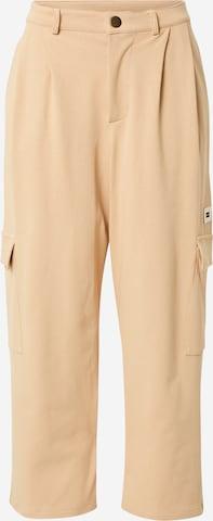 Pantaloni cu buzunare 'Utility' de la 10Days pe bej