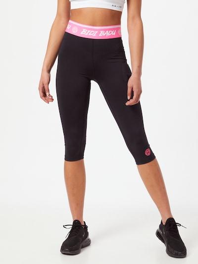 BIDI BADU Leggings in pink / schwarz / weiß, Modelansicht