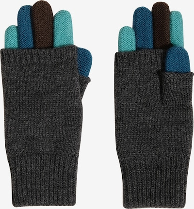 MAXIMO Gloves in Blue / Turquoise / Grey mottled / Black, Item view