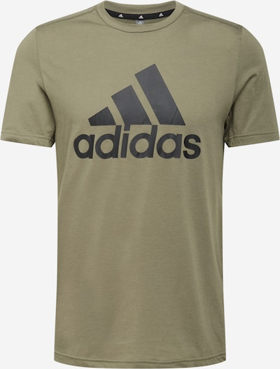 ADIDAS PERFORMANCE T-Shirt fonctionnel en olive, Vue avec produit