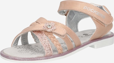 Dockers by Gerli Sandales en rose clair, Vue avec produit