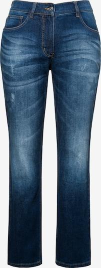 Ulla Popken Jeans in blue denim: Frontalansicht