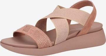MARCO TOZZI Sandalen in Pink