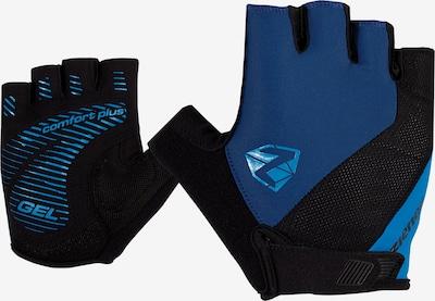 ZIENER Fahrradhandschuhe 'COLLBY' in blau / schwarz, Produktansicht