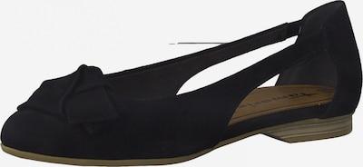 TAMARIS Ballerina in schwarz, Produktansicht