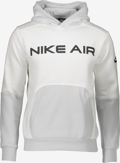 Nike Sportswear Суичър в светлосиво / черно / бяло, Преглед на продукта