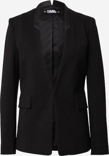 Blazer švarkas iš Karl Lagerfeld , spalva - juoda / Sidabras, Prekių apžvalga