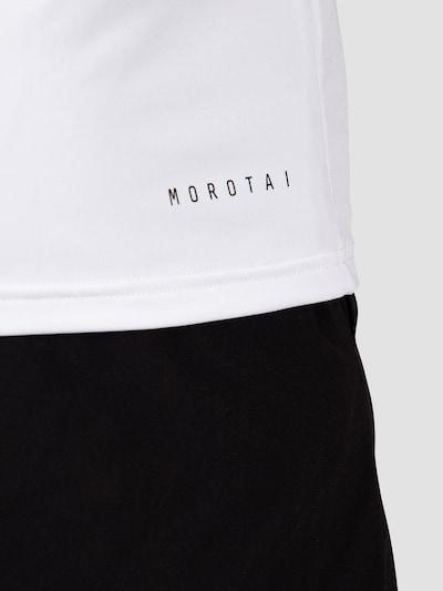 MOROTAI Funktionsshirt in schwarz / weiß, Produktansicht