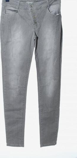 ZABAIONE High Waist Jeans in 29 in hellgrau, Produktansicht