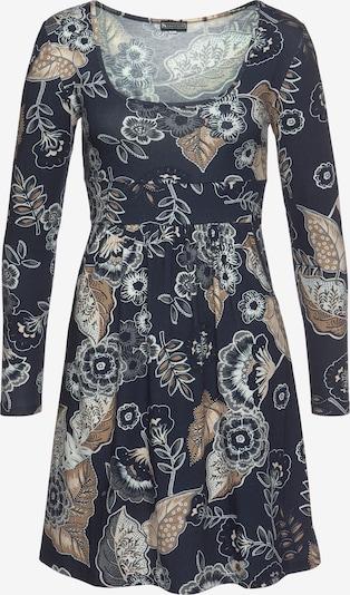 LAURA SCOTT Kleid in navy / gold / weiß, Produktansicht