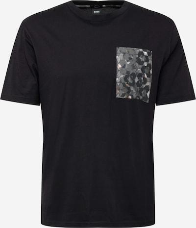 Tricou BOSS Casual pe gri / gri închis / negru, Vizualizare produs