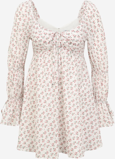 Forever New Petite Kleid 'Nala' in grün / rosa / rot, Produktansicht