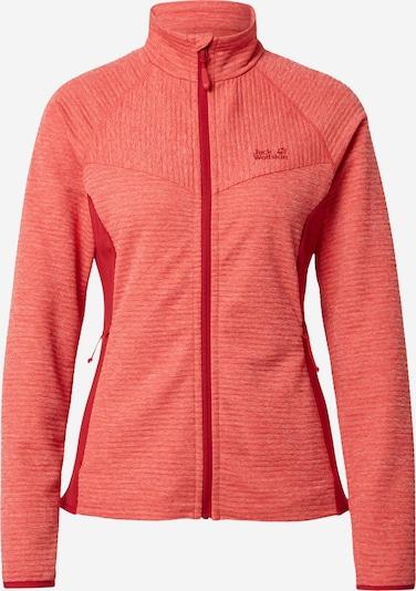 Sportinis džemperis 'ACTIVE TONGARI' iš JACK WOLFSKIN , spalva - raudona / šviesiai raudona, Prekių apžvalga