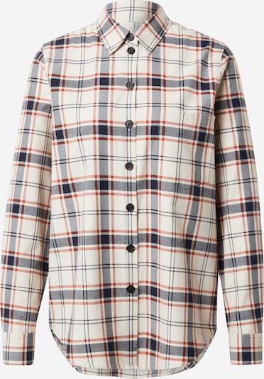Bluză SEIDENSTICKER pe crem / bleumarin / roșu burgundy / roșu deschis, Vizualizare produs