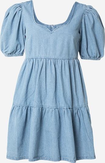 Missguided Robe en bleu denim, Vue avec produit