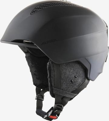 Alpina Helmet 'Grand' in Black