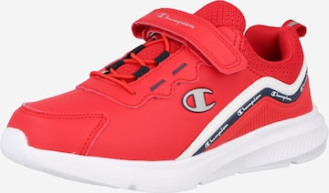 Champion Authentic Athletic Apparel Sneaker 'SHOUT OUT' in Rot