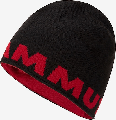 MAMMUT Sportmütze in rot / schwarz, Produktansicht