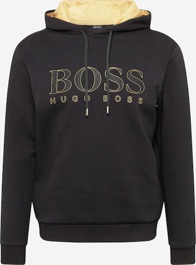 BOSS ATHLEISURE Sweatshirt 'Soody 2' i gul / svart, Produktvy