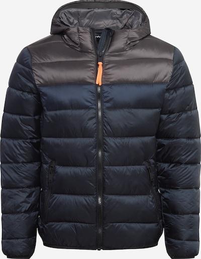 CMP Outdoorjas in de kleur Nachtblauw / Donkergrijs, Productweergave
