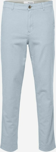 SELECTED HOMME Slim Tapered Fit Leinenmischfaser Hose in hellblau, Produktansicht