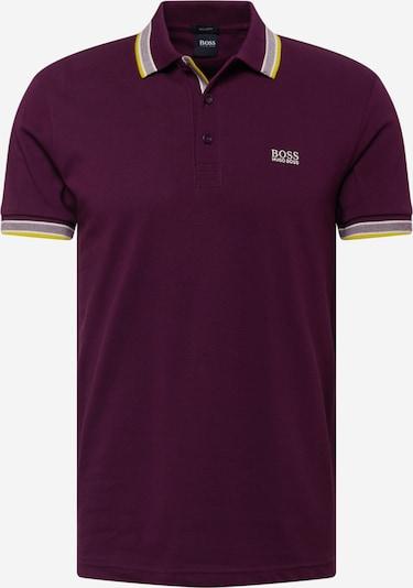 BOSS ATHLEISURE Shirt 'Paddy' in Yellow / Berry / White, Item view