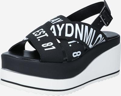 Sandale cu baretă 'SHELYE' REPLAY pe negru / alb, Vizualizare produs