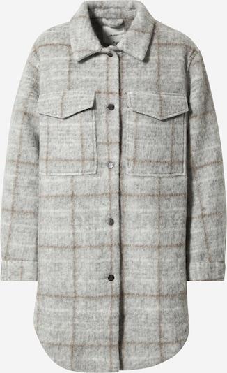 OBJECT Bluse in braun / hellgrau, Produktansicht