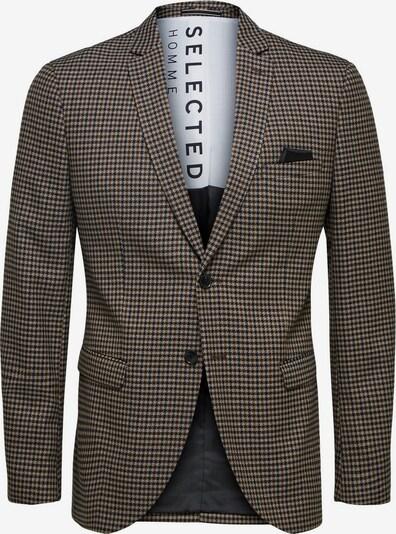 SELECTED HOMME Blazer in beige / braun / anthrazit, Produktansicht