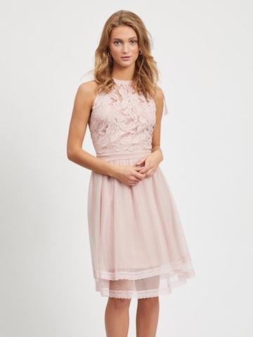 VILA Cocktailklänning 'ZINNA' i rosa