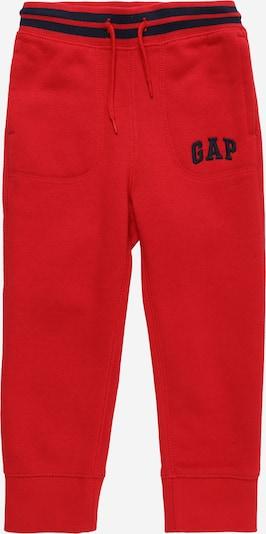 GAP Pantalon en bleu marine / rouge, Vue avec produit