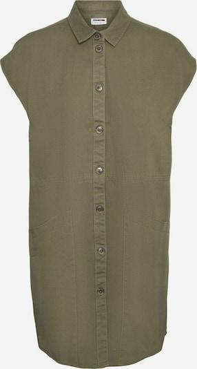 Noisy may Vestido camisero en oliva, Vista del producto