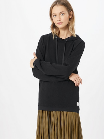 Marc O'Polo DENIM Hoodie in schwarz: Frontalansicht