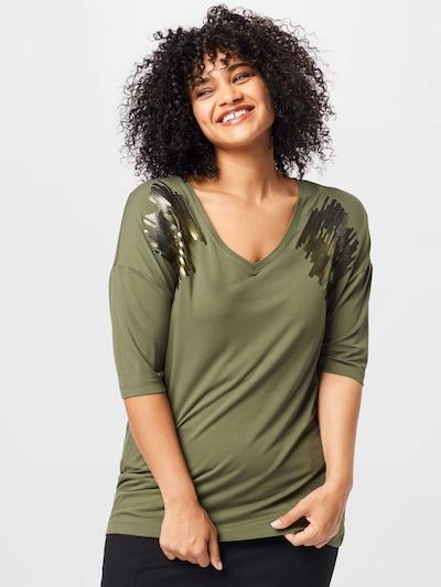 Persona by Marina Rinaldi T-shirt 'VALTER' en vert: Vue de face